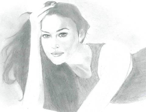 Monica Bellucci by Mariya_Trushina
